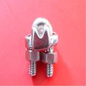 Stainless Steel Forged Clip for Wire Rope Loop Connecting pictures & photos