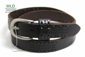 Fashion Basic Genuine Top Leather Men′s Belt Lky1206 pictures & photos