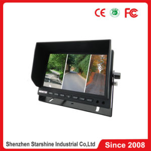 7 Inches Car Monitor with Quad Split Screen