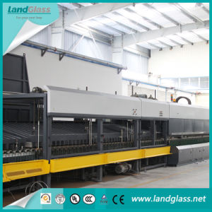 Luoyang Landglass Through Horizontal Tempered Flat Glass Machine pictures & photos
