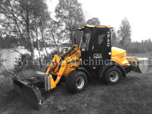 1 Ton Hot Sale Ce CS910j PRO Mini Hydraulic Wheel Loader
