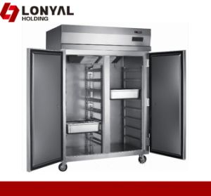 Stainless Steel Gn Pan Refrigerated Cabinet (LY-1200L2/F)