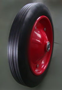 Rubber Solid Wheel pictures & photos