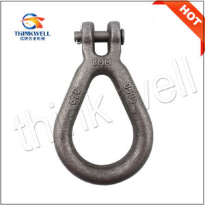 Pear Shaped Forged Steel Clevis Reeving Link pictures & photos