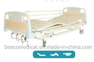 Three Cranks Manual Bed with ABS Bed Board (BES-HB037A)
