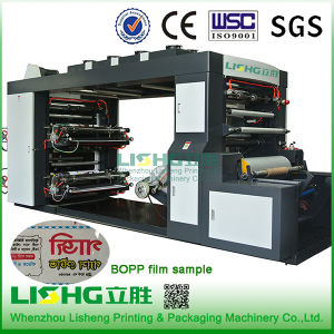 4 Colour High Speed Stack BOPP Film Flexo Printing Machine pictures & photos