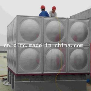 Stainless Steel 304/316 Rectangular Portable Water Tank Price/Cheap Tank pictures & photos