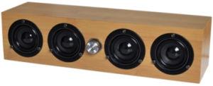 USB2.0 Speaker Wood Desktop Hi-Fi DC5V 2.0