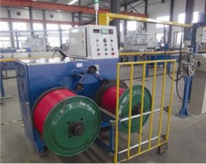 Extrusion PLC Double Axis Coiling Machine pictures & photos