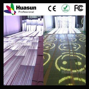 Transparent Flexible LED Strip Video Screen pictures & photos