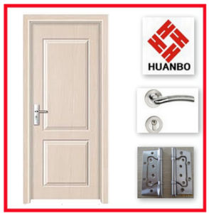 New Design Fashionable Hot Sale MDF Wooden Doors Hb-019
