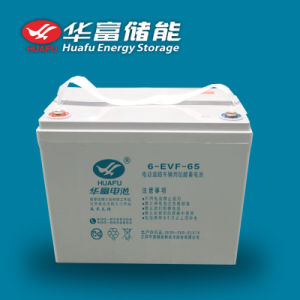 12V 65ah Ev/Car Use Gel Battery pictures & photos