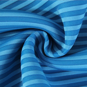 Warp Knit Fabric Stripe Air Layer pictures & photos