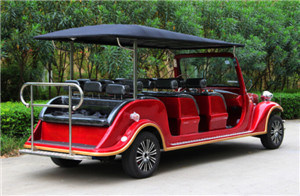 Hot Sell Luxury 11 Seater Electric Retro Car pictures & photos