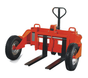 1000kg Rough Terrain Hand Pallet Truck pictures & photos