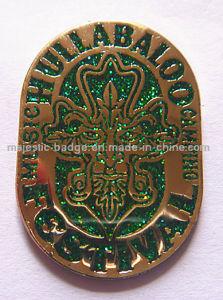 Brass Die Struck Plating Gold & Glitter Badge (Hz 1001 B047) pictures & photos