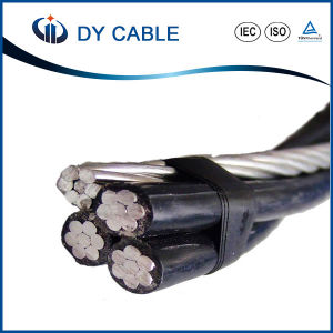ABC Cable Low Voltage Aerial Bundle Cable with Steel Messenger pictures & photos
