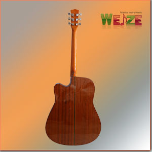 41inch Cutaway Spruce Sapele  Folk Guitar  pictures & photos