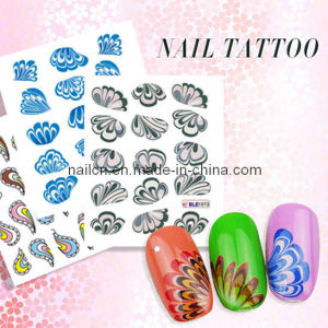 Nail Art, Nail Decal, Nail Sticker, Flower Series Nail Tattoo, pictures & photos