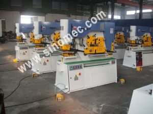 Hydraulic Multiple Functions Ironworker Punching Q35y-25 pictures & photos