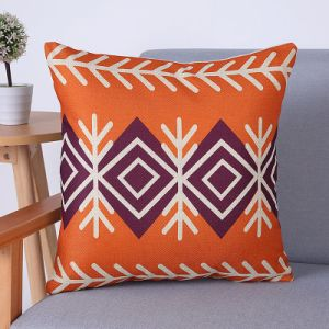 Digital Print Decorative Cushion/Pillow with Geometric Pattern (MX-59) pictures & photos