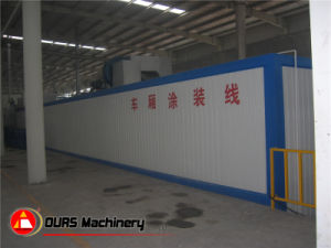 Hot-Air Circulation Drying Oven in Powder Coating Line pictures & photos