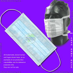 Disposable Polypropylene Hospital Face Mask pictures & photos