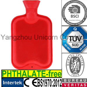 TUV SGS BS Rubber Hot Water Bag
