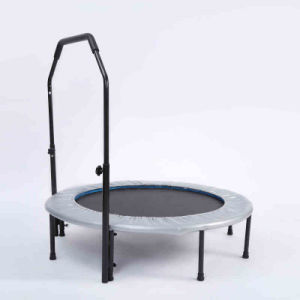 Hot Selling Trampoline with Handrail, Family Round Trampoline, Courtyard Trampoline pictures & photos