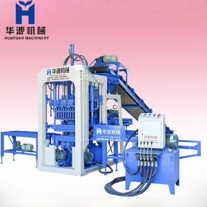 But High Capcity Block Making Machine, Qt3-25 Concrete Block Making Machine
