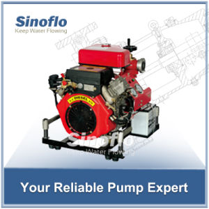 25HP Portable Diesel Engine Vacuum Priming Fire Water Pump pictures & photos