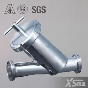 Sanitary Pipe Fitting Male Thread Y Type Strainer pictures & photos