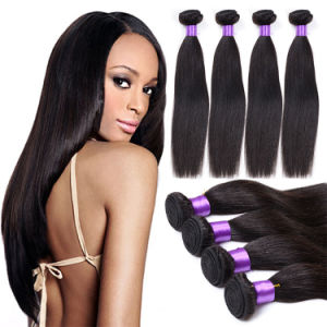 Human Hair Weave Unprocessed Mink Brazilian Straight Hair pictures & photos