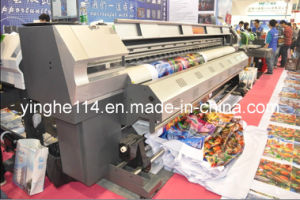 High Quality 3.2m out Door Eco Solvent Printer Plotter (YH-3200S) pictures & photos