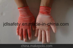 Pink Cut Resistant Work Glove with PU (PD8015P) pictures & photos