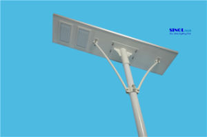 All in One 120W LED Integrated Solar LED Road Lamp (SNSTY-2120) pictures & photos