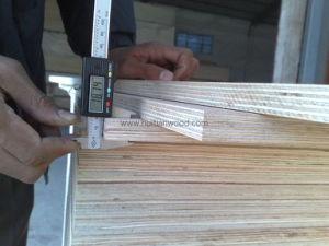 18mm A Grade Natural White Poplar Fancy Plywood for Decoration and Furniture pictures & photos