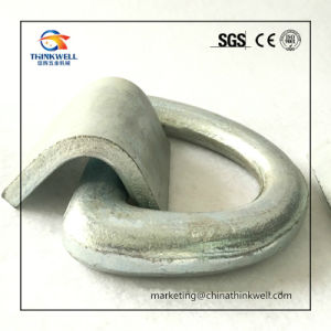 Forged Container Lashing D-Ring with Bracket pictures & photos