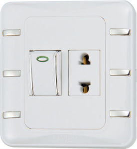 Ee-Hm-K06 1 Gang 16A Wall Switch and Socket pictures & photos