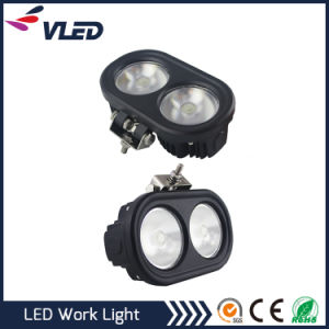 80W Round LED Working Lights Modifiled Auxiliary Lamp Maintenance Engineering Spotlight pictures & photos