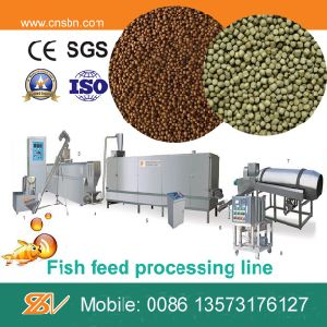 Large Capacity Extrudering Floating Fish Feed Machine pictures & photos