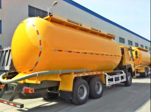 40cbm 8X4 HOWO Bulk Cement Truck pictures & photos