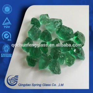 Aqua Green Small Size Glass Rocks pictures & photos