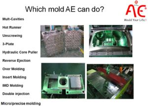 4 Caivities High Quality Plastic Injection Mould of Cap Mold pictures & photos