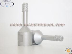 Vacuum Brazed Drill Bits Ceramic Dry Drill Bit Granite Tile Drill Bit pictures & photos