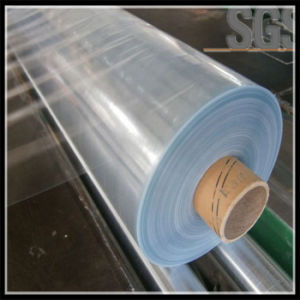 13microns-100microns PVC Shrinkable Film PVC Shrink Film Roll pictures & photos