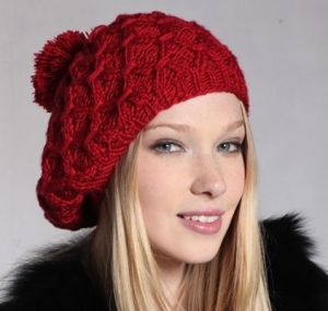 Warm Beanie Hat Oversized (XT-B025) pictures & photos