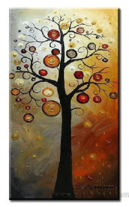 Modern Abstract Art Oil Painting on Canvas (LA1-041) pictures & photos