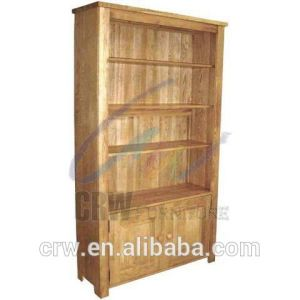 OA-4049 Living Room Furniture Solid Wood Oak Bookcase pictures & photos