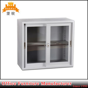 Office Half Height Small Glass Sliding Door Steel Filing Cabinet pictures & photos